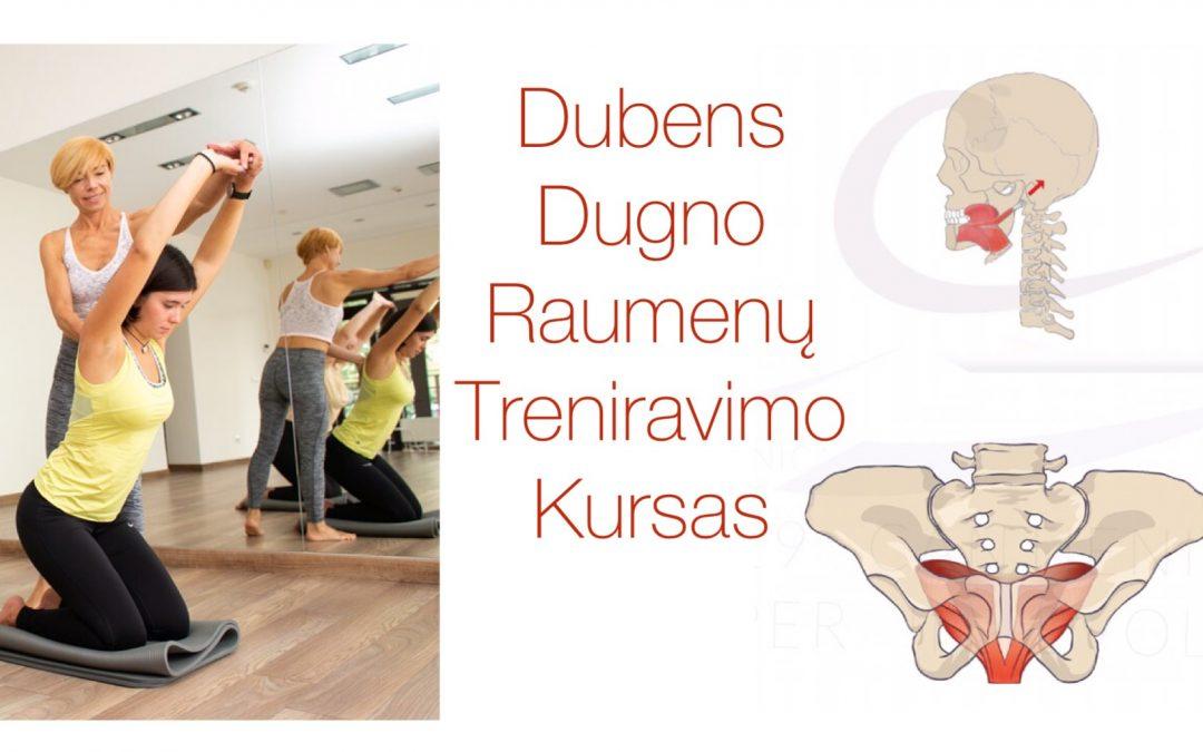 DUBENS DUGNO raumenų treniravimo kursas